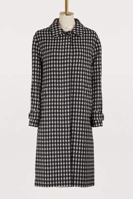 Officine Generale Macie virgin wool coat