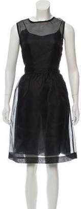 Prada Silk Midi Dress