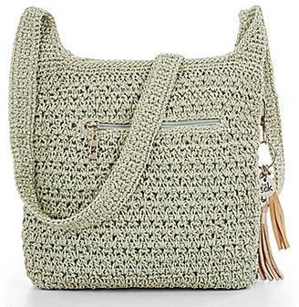 The Sak Shasta Tasseled Crochet Cross-Body Bag $39 thestylecure.com