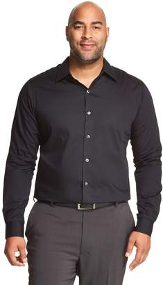 Van Heusen Big & Tall Classic-Fit Easy-Care Button-Down Shirt