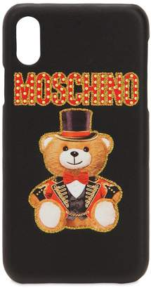 Moschino Logo Embossed Iphone X Cover