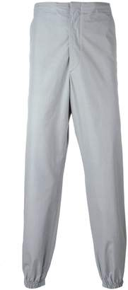 Jil Sander gathered ankle trousers