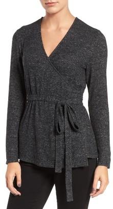 Women's Trouve Wrap Sweater $59 thestylecure.com