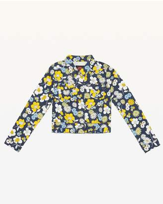Juicy Couture Garden Floral Denim Jacket for Girls