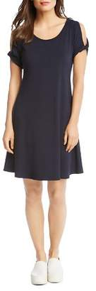 Karen Kane Cold-Shoulder Knit Dress