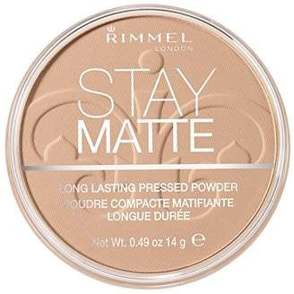 Rimmel Stay Matte Pressed Powder, Natural, 0.49 Fluid Ounce $4.99 thestylecure.com