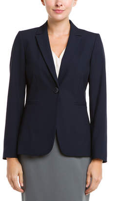 Tahari by Arthur S. Levine Tahari Asl Navy Suiting Jacket