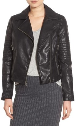 Levi's ® Faux Leather Moto Jacket $150 thestylecure.com