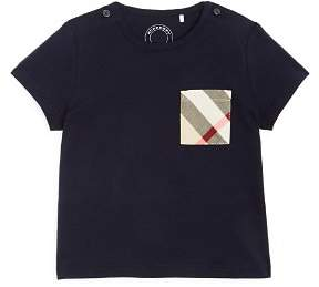 Burberry Boys' Callum Check Pocket Tee - Baby