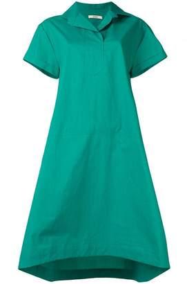 Odeeh short-sleeve flared dress