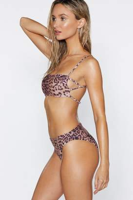 Nasty Gal Stealth Mode Leopard Bikini Set