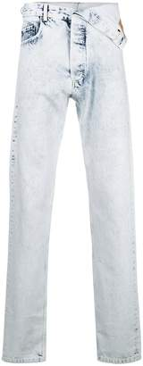 Y/Project Y / Project foldover straight jeans