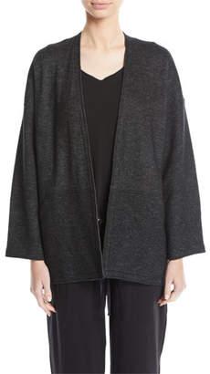 Eileen Fisher Melange Knit Kimono Jacket