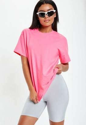 Missguided Fluro Oversized T Shirt