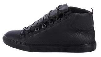 Balenciaga Python Arena Sneakers