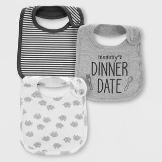 Carter's Just One You made by carter Baby 3pk Bibs - Just One You® made by One Size