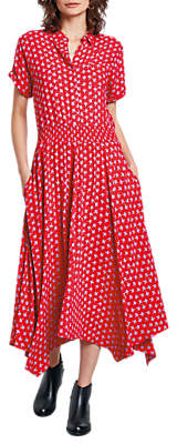 Hush Kensington Dress, Red Multi