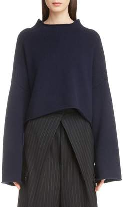 J.W.Anderson Cable Shoulder Wool & Cashmere Sweater