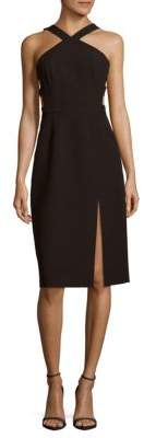 Ruth Solid Slim-Fit Dress $298 thestylecure.com