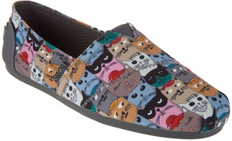 Skechers BOBS Cat Scratch Slip-On Shoes -Party