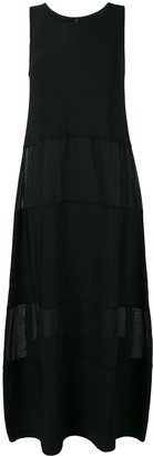 Pierantonio Gaspari Pierantoniogaspari panelled long dress
