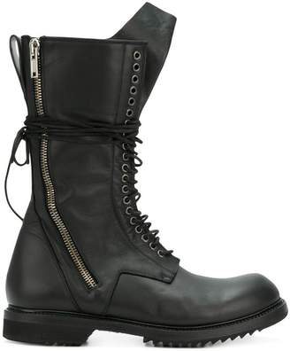 Rick Owens work boots