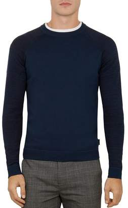 Ted Baker Cornfed Space-Dye Crewneck Sweater