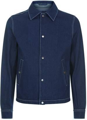 Ami Paris Denim Button Up Jacket