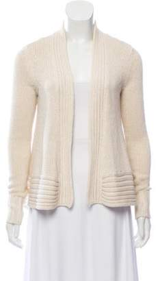 Diane von Furstenberg Wool-Blend Knit Cardigan metallic Wool-Blend Knit Cardigan