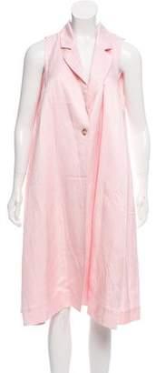MM6 MAISON MARGIELA Sleeveless Longline Vest
