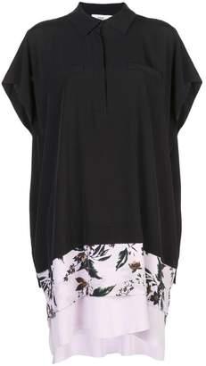 Diane von Furstenberg crepe de chine shirt dress