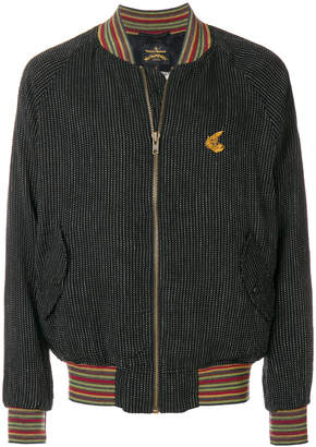 Vivienne Westwood patterned bomber jacket