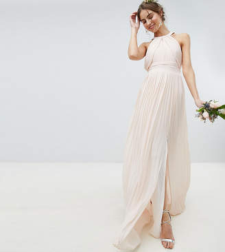 TFNC Tall Tall Pleated Maxi Bridesmaid Dress