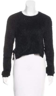 Majorelle Fuzzy Knit Sweater