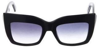 Max Mara Oversized Gradient Sunglasses