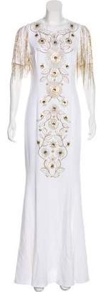 Andrew Gn Embellished Evening Dress