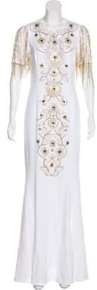 Andrew Gn Embellished Evening Dress