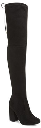Steve Madden Norri Over the Knee Boot (Women) $129.95 thestylecure.com