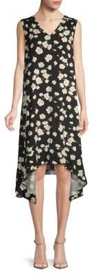 Lord & Taylor Leah Floral Sleeveless Shift Dress