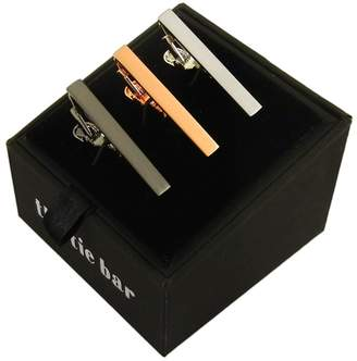The Tie Bar Brushed Set