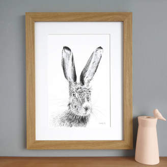 Kate Daniels design Hare Print 'The Runners Seven'