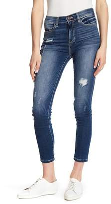 SP Black Distressed Skinny Jeans