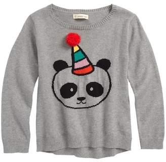 Tucker + Tate Fuzzy Icon Sweater (Toddler Girls, Little Girls & Big Girls)