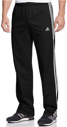 adidas Men's Essential Tricot Track Pants $35 thestylecure.com
