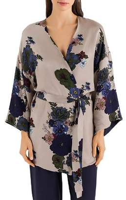 Hanro Lavea Reversible Kimono Robe
