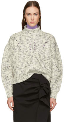 Isabel Marant White Wool Jilly Turtleneck