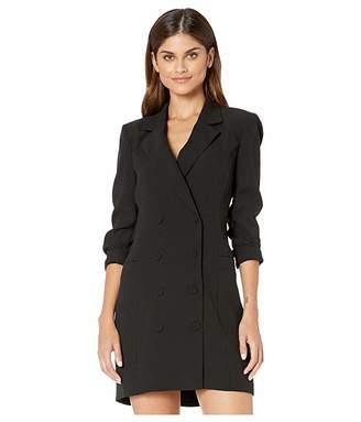 BCBGMAXAZRIA Tuxedo Blazer Dress