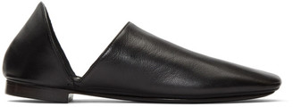 Lemaire Black Babouche Loafers