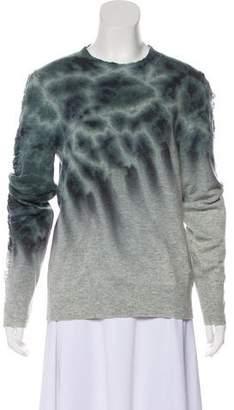 Raquel Allegra Wool & Cashmere Tie Dye Sweater