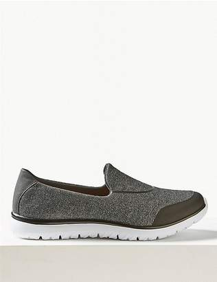 Marks and Spencer Wide Fit Slip-on Trainers